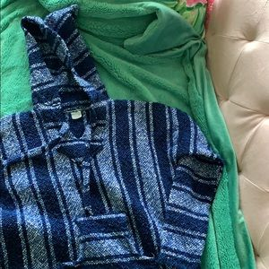 Sweaters - jacket/drug rug/poncho from mexico